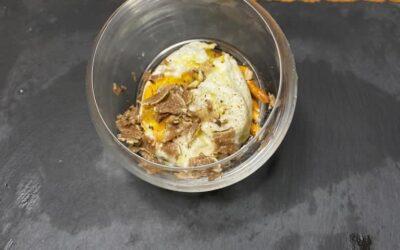 Uova al tartufo bianco